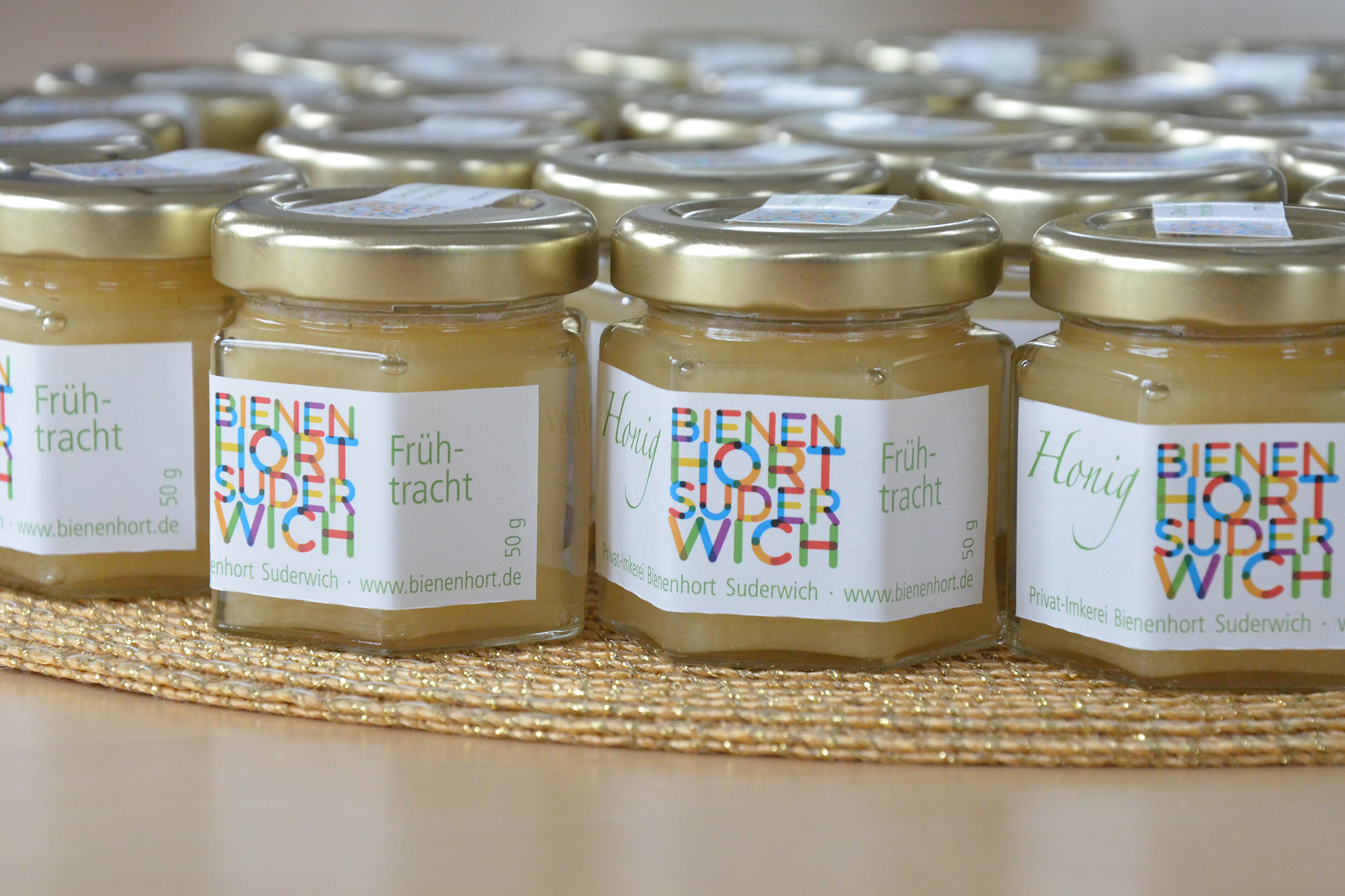 Honigpräsent aus der Imkerei Bienenhort Suderwich Recklinghausen