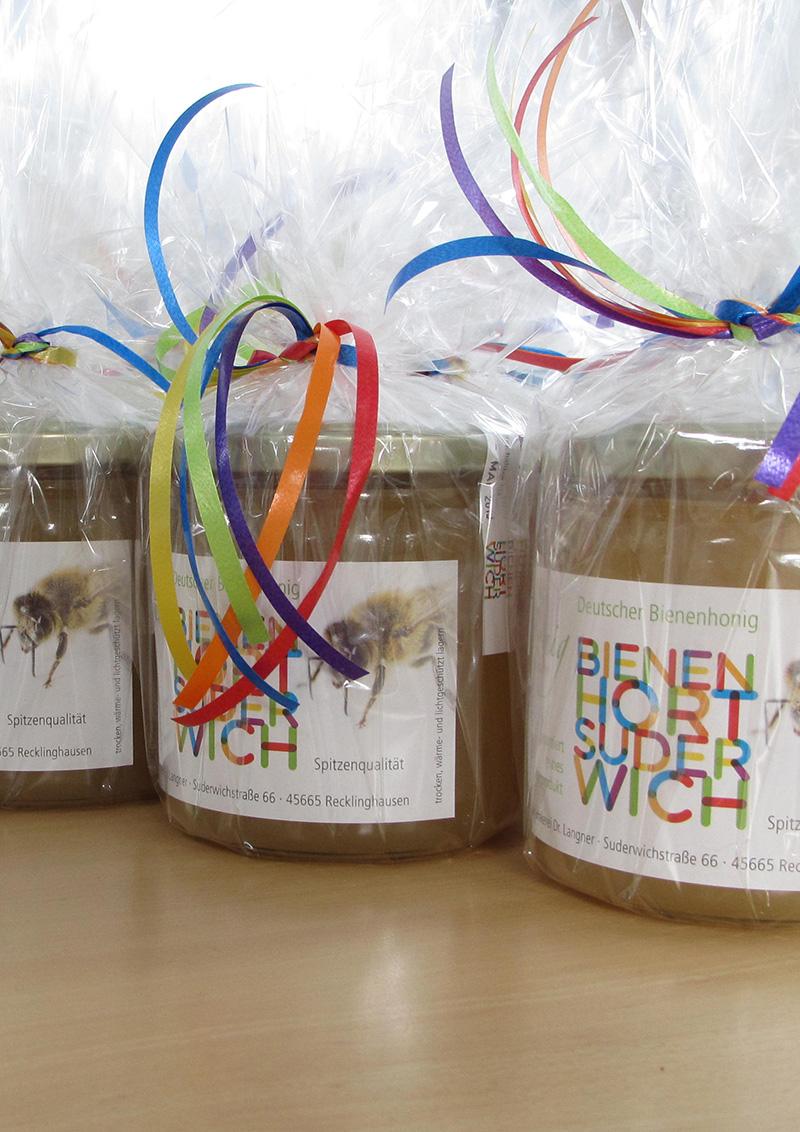 Honigpräsent aus der Imkerei Bienenhort Suderwich